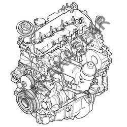 BMW F30 3 SERİSİ N47D20C KOMPLE MOTOR 2011-2015